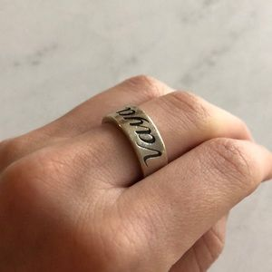 James Avery Vaya Con Dios Ring 5.5